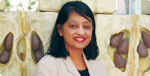 Senior lecturer and director of international business in the Faculty of Business Economics, Macquarie University, Dr Meena Chavan.