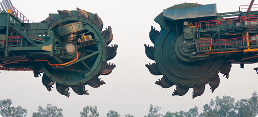 Earlier this year NLC inaugurated two giant TAKRAF bucket wheel excavators in Neyveli, India.