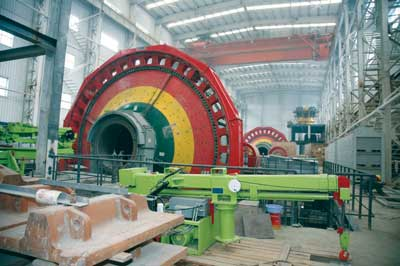 A new mill is being constructed at the Jiama Copper-Polymetallic Project in Tibet Autonomous Region.