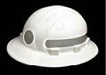 CAPTION: The Americana is one of three styles of reflective hard hats offered by Protecto Products.
