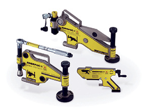 Enerpac's ATM-Series of flange alignment tools help to safely and swiftly solve pipeline problems.