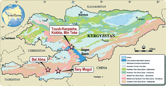 Celsius Coal's prospects in the Kyrgyz Republic of Central Asia.