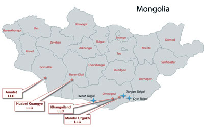 Tian Poh listed on the ASX last November with a suite of projects in southern Mongolia.