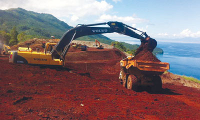 The Agata Mining Ventures Inc joint venture between TVI Pacific and Mindoro Resources is a new nickel project that is benefiting from Indonesia's ore export bans.