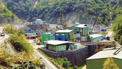 Processing facilities at the Ban Phuc Nickel-Copper Project in northern Vietnam.
