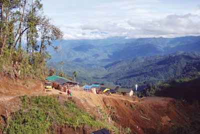 The Crater Mountain Gold Project is in Papua New Guinea's Eastern Highlands province, 50km from Goroka.