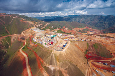 Aggreko helps power this remote mine site with its temporary power solutions.