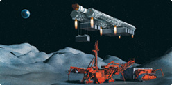 Theoretically, there are many ways to extract essential elements from asteroids, including strip mining, shaft mining, heating and magnetic rakes for mining heavy metals.