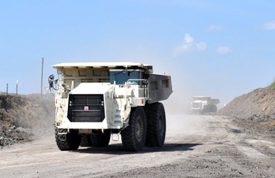 Terex Trucks TR100 rigid haulers